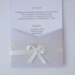Handmade Wedding Invitation Set