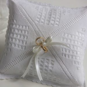 Ring square pillow